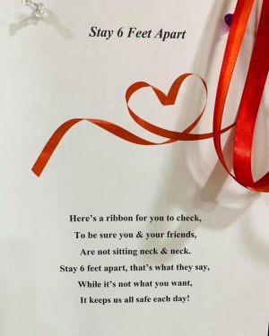 6 Feet Apart Poem